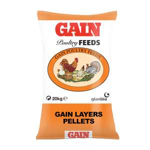 GAIN Layers Pellets Poultry Feed 20kg