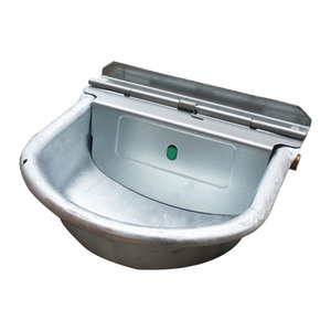 Galvanised Drinking Bowl