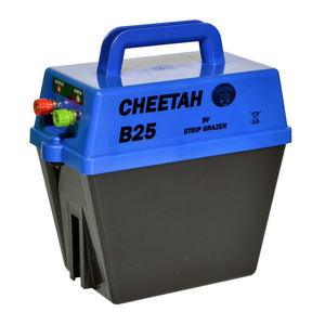 Cheetah Single Speed Battery Fencer B25