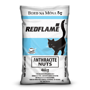 Bord na Móna Red Flame Anthracite Nuts Coal 40kg