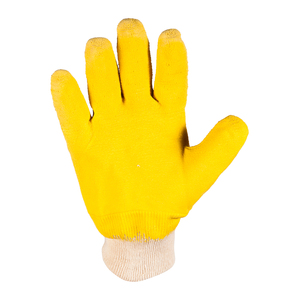 Yellow Latex Non Cut Gloves