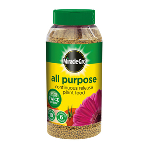 Miracle Gro All Purpose Continuous Release Plant Food Shaker 1kg