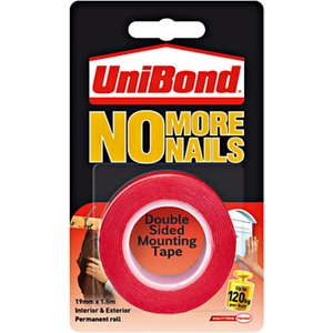 UniBond No More Nails Ultra Strong Double Sided Mounting Tape