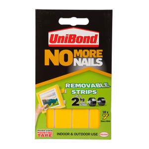UniBond No More Nails Removable Strips