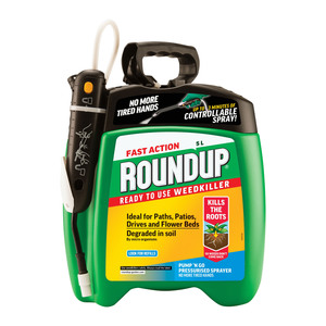 Roundup Fast Action Weedkiller Pump Spray 5L