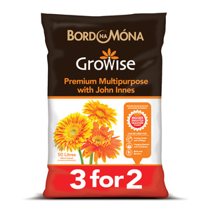 Bord Na Mona Growise Premium Multipurpose with John Innes 50L