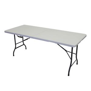 Tivoli Folding Table White 1.8M