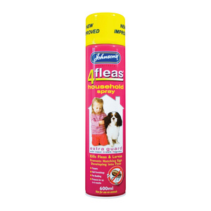 Johnsons 4Fleas Household IGR Flea Spray 600ml