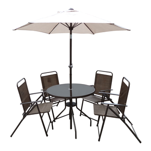 Bradley 4 Seater 80cm Set Copper