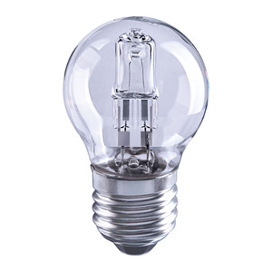 Solus 40W Clear Round Halogen Energy Saver Bulb
