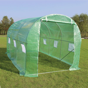 Large Proplus Polytunnel Greenhouse with Steel Frame