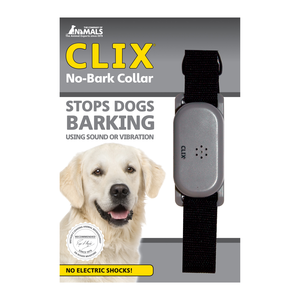 Animals Clix No Bark Collar Small