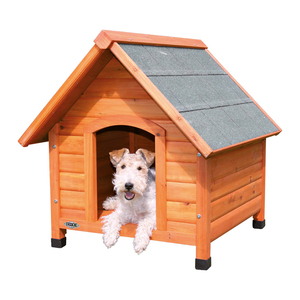 Trixie Natura Dog Kennel - Saddle Roof Small 71 x 77 x 76cm