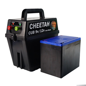Cheetah Cub Dual Fencer & Battery