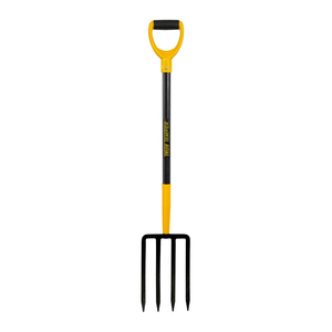 True Temper Digging Fork with Fiberglass Handle D Grip