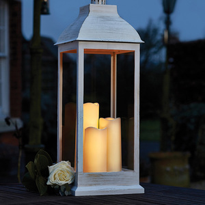 Giant Cream Battery Lantern