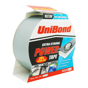 Unibond Extra Strong Power Tape - Silver (20% Extra Free)