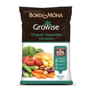 Growise Organic Vegetable Compost 50L