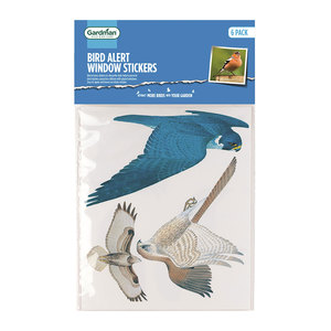 Gardman Bird Alert Window Stickers