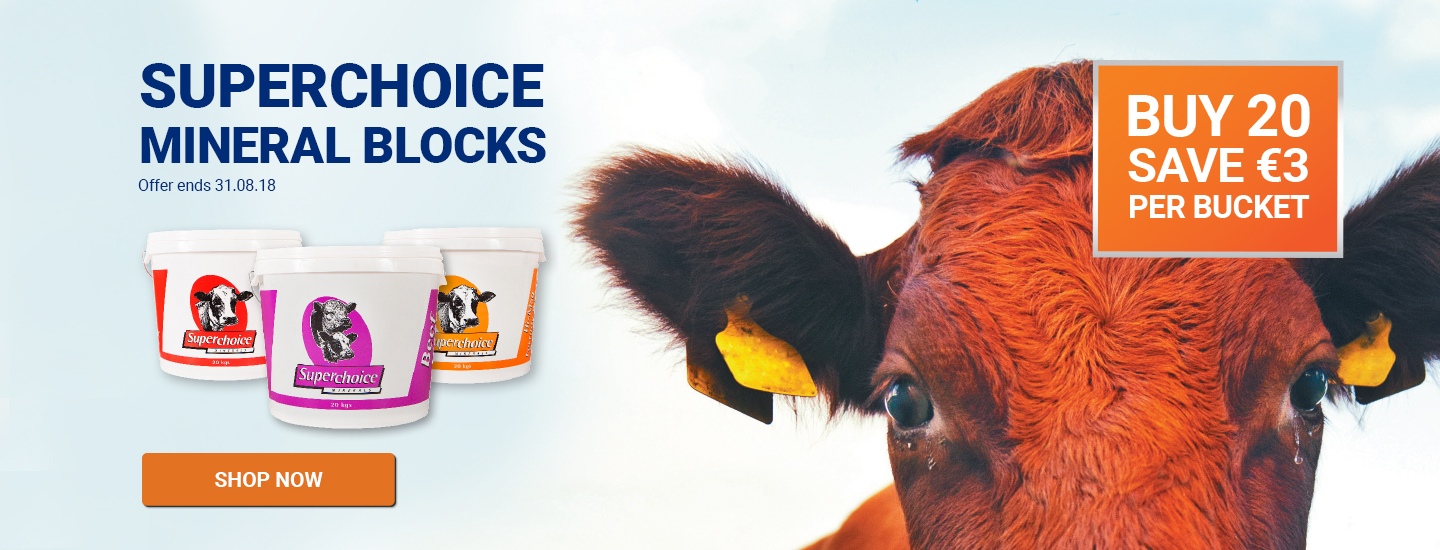 Super choice minerals - Buy €20 save €3 per bucket