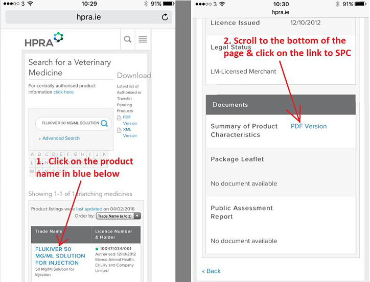 Use HPRA website to check Vet Medicines | Glanbia Connect