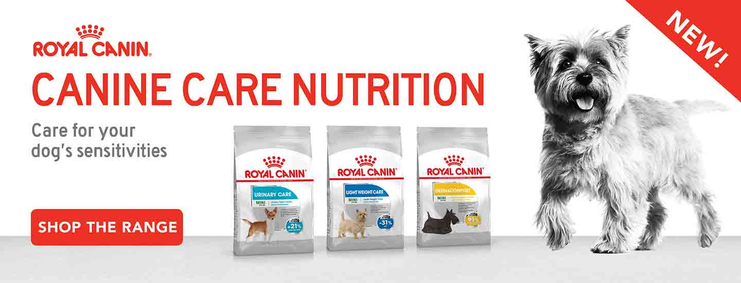 New Royal Canin Range Sensitivities