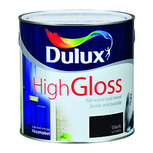 Dulux High Gloss Black