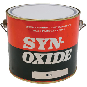 Super Synthetic Anti Corrosive Oxide Paint Red