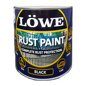 Lowe Rust Paint Black