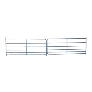 Fox Brothers  Medium Galvanised Double Field Gate