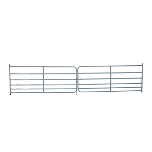 Fox Brothers Heavy Galvanised Double Field Gate