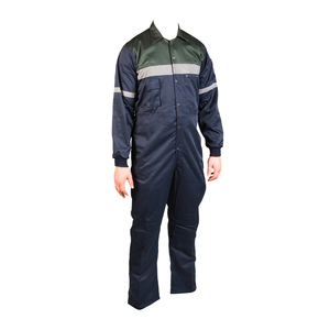 Deluxe Safety Polycotton Boilersuit