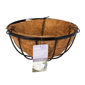 Gardman Georgian Black Hanging Basket