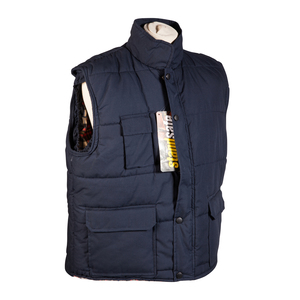 Flannel Bodywarmer with Lining