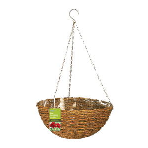 Gardman Natural Rustic Hanging Basket