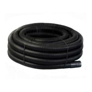 Perforated Black Coil Land Drainage Pipe