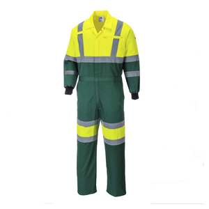 Hi Visibility Coverall Safety Suit