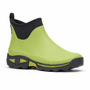 Rouchette Green Ladies Ankle Boot