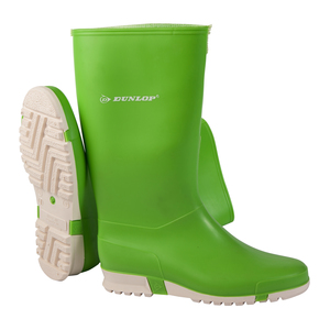 Dunlop Lime Green Ladies Wellington
