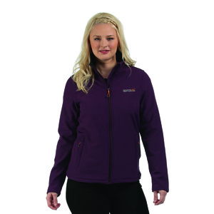 Connie Woman's Soft-shell Jacket Blackcurrant