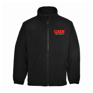 GAIN Equine Nutrition Aran Black Fleece