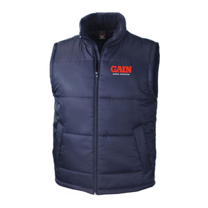 GAIN Animal Nutrition Result Navy Body Warmer