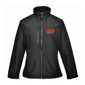 GAIN Charlotte Womens Black Softshell Jacket