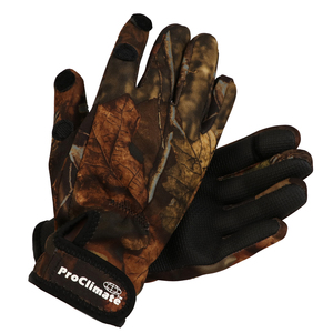 Neoprene Gloves Brown Camo